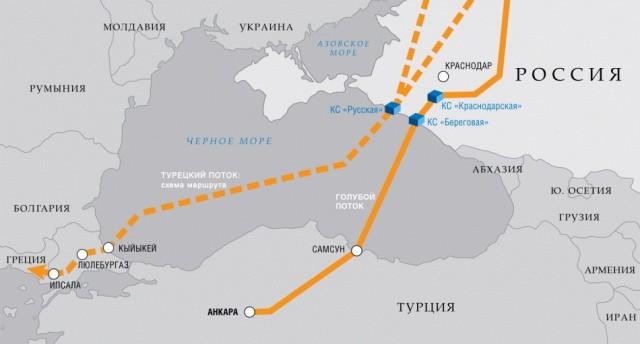 Gazprom map