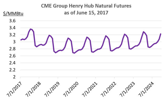 CME Group HH Natural Futures